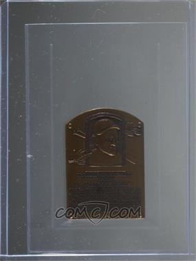 1985 National Baseball Hall of Fame Mini Bronze Plaques - [Base] #CHKL - Chuck Klein