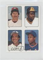 Mike Schmidt, Tony Gwynn, Gary Carter, Dwight Gooden