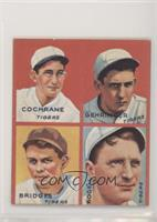 Mickey Cochrane, Charlie Gehringer, Tommy Bridges, Billy Rogell