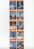 Whitey Ford, Sandy Koufax, Vern Law, Jim Palmer, Catfish Hunter, Denny McLain, …