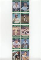 Carl Yastrzemski, Roger Maris, Dick Allen, Jackie Jensen, Mickey Mantle, Brooks…