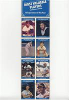 Willie Stargell, Roy Campanella, Dick Groat, Stan Musial, Johnny Bench, Ernie B…