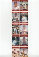 Tommy Agee, Jackie Robinson, Don Newcombe, Thurman Munson, Billy Williams, Luis…