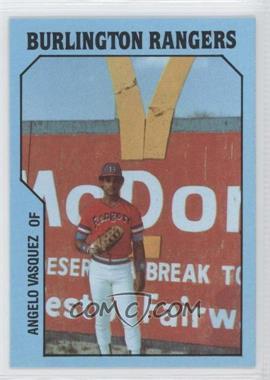 1985 TCMA Minor League - [Base] #492 - Angelo Vasquez