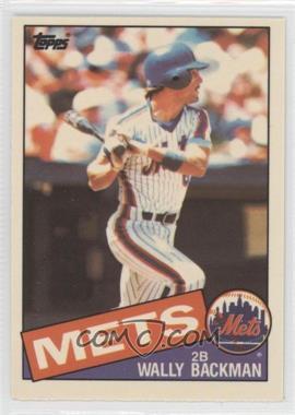 1985 Topps - [Base] - Box Set Collector's Edition (Tiffany) #677 - Wally Backman