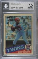 Kirby Puckett [BGS 7.5 NEAR MINT+]