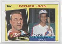 Father - Son - Tito Francona, Terry Francona