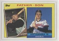 Father - Son - Dick Schofield, Dick Schofield Jr.