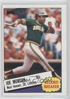 Record Breaker - Joe Morgan