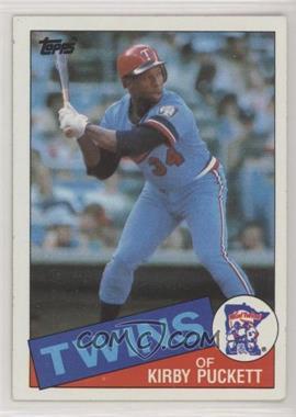 1985 Topps - [Base] #536 - Kirby Puckett