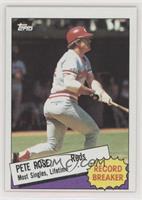 Record Breaker - Pete Rose