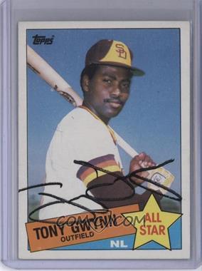 1985 Topps - [Base] #717 - All Star - Tony Gwynn [JSACertifiedCOASticker]