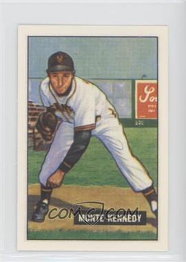 1986 C.C.C. 1951 Bowman Reprints - [Base] #163 - Monte Kennedy