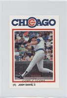 Jody Davis Baseball Cards