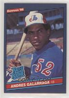 Andres Galarraga (Accent Mark over Name on Back)