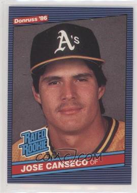 1986 Donruss - [Base] #39 - Jose Canseco
