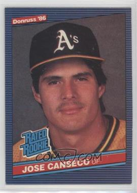 1986 Donruss - [Base] #39 - Jose Canseco