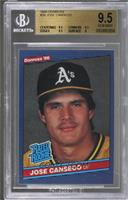 Jose Canseco [BGS 9.5 GEM MINT]