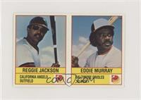 Eddie Murray, Reggie Jackson [Noted]