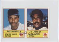 Dave Winfield, Jim Rice