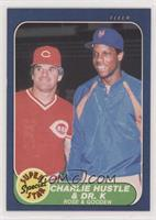 Pete Rose, Dwight Gooden