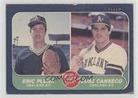 Eric Plunk, Jose Canseco [Noted]