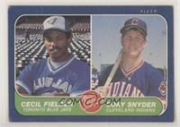 Cecil Fielder, Cory Snyder [Good to VG‑EX]