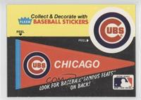 Chicago Cubs Pennant - Hank Gowdy