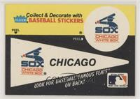 Chicago White Sox Pennant - Hack Wilson