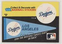 Los Angeles Dodgers Pennant - Grover Alexamder