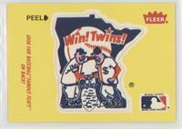 Minnesota Twins Logo - Fred Toney, Hippo Vaughn