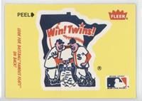 Minnesota Twins Logo - Fred Toney, Hippo Vaughn