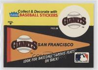San Francisco Giants Pennant - Red Rolfe