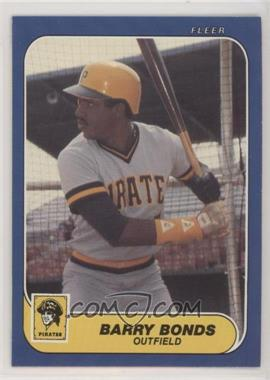 1986 Fleer Update - Factory Set [Base] #U-14 - Barry Bonds
