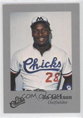 1986 Memphis Chicks - [Base] - Silver #28 - Bo Jackson