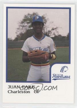 1986 ProCards Charleston Rainbows - [Base] #JUPA - Juan Paris