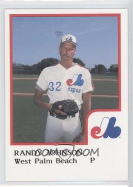 Randy Johnson West Palm Beach Expos Card