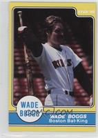Wade Boggs Boston Bat-King Stretching