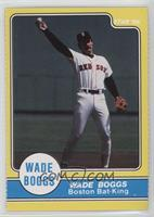 Wade Boggs Boston Bat-King Throwing