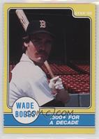 Wade Boggs .300+ For A Decade