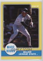 Wade Boggs Major League Stats