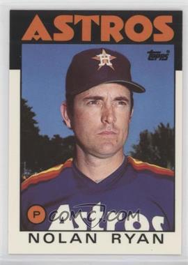 1986 Topps - [Base] - Box Set Collector's Edition (Tiffany) #100 - Nolan Ryan