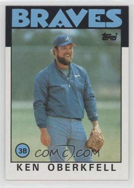 1986 Topps - [Base] #334 - Ken Oberkfell