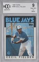 Cecil Fielder [BCCG Near Mint]