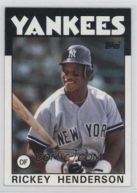 1986 Topps - [Base] #500 - Rickey Henderson