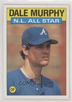 Dale Murphy Baseball Cards From 1986