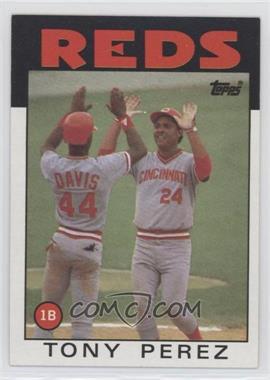 1986 Topps - [Base] #85 - Tony Perez [EXtoNM]