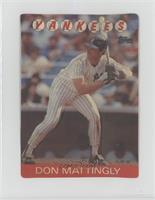 1986 Topps 3 D Baseball Stars Base Baseball Cards