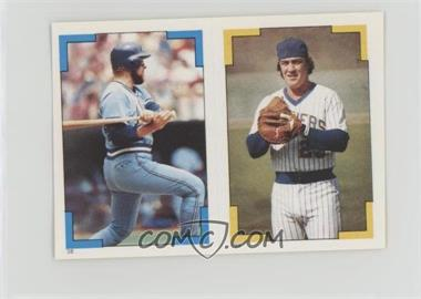 1986 Topps Album Stickers - [Base] #199-38 - Ted Simmons, Ken Oberkfell