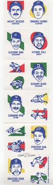 1986 Topps Tattoos - [Base] #NoN - Charlie Leibrandt, Dickie Thon, Lee Smith, Dave Winfield, Julio Franco, Keith Hernandez, Jack Perconte, Rich Gossage